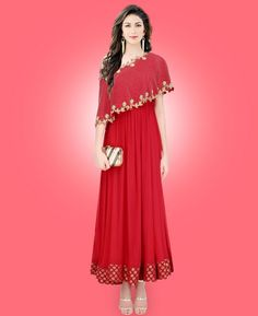 #hey @a1designerwear . Item code: ADF79390 . Buy Taking Red Readymade #gown #onlineshopping with #worldwideshipping at  https://www.a1designerwear.com/taking-red-readymade-gown   . #a1designerwear #a1designerwear . #instashop #worldwide #thankyou