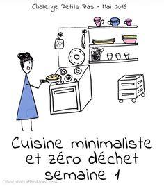 Objectif z ro d chet en cuisine avec b a johnson une for Minimalisme rangement