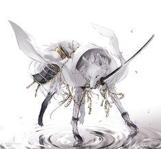 【刀剣乱舞】鶴丸さんを狼化【とある審神者】 : とうらぶ速報~刀剣乱舞まとめブログ~