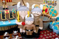 Que tal um tema de aniversario diferente e divertido para as crianças? Festa de aniversário Viking! Inspire-se neste post!