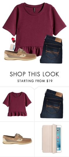 """Happy Valentines Day!!"" by laxsoccerlover36 ❤ liked on Polyvore featuring H&M, Abercrombie & Fitch, Sperry Top-Sider, Godiva, women's clothing, women, female, woman, misses and juniors"