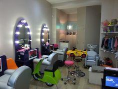 {Nous avons testé} Le salon de #coiffure pour #enfants 123 Ciseaux à #Paris : pratique, efficace et ludique !