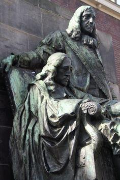 Johan en Cornelis de Witt te Dordrecht ( foto Astrid den Hartog )