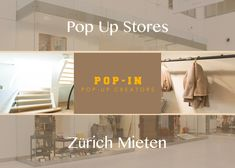 Looking for 'pop-up store Zürich Mieten' or 'pop-up store in entire Switzerland,' go ahead with pop-in.ch- a platform providing commercial spaces for short-term rentals to organize pop-up shops.