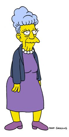 The simpsons - Agnes Skinner, mother to Seymour Skinner and longtime Springfield resident