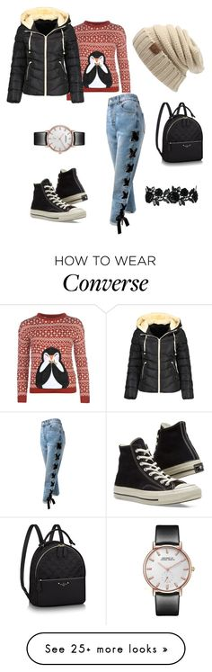 """Christmas Time :)"" by juliaschaefer1998 on Polyvore featuring Sans Souci and Converse"