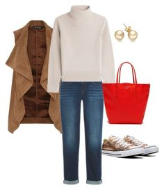 """""""Para curtir o domingão!"""" by ilse-gaedke on Polyvore featuring Converse, Dorothy Perkins, Vanessa Seward and Lacoste"""