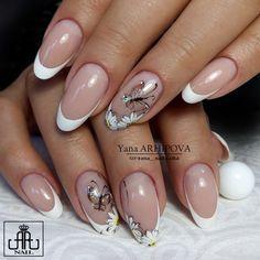Glam Nails, Classy Nails, Stylish Nails, Nail Manicure, Toe Nails, Pink Nails, Beauty Nails, French Nail Art, French Nail Designs