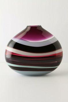 Sand Strata Vase, Oval - Anthropologie - this is gorgeous!!