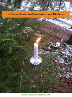 Birthday Candles, Advent, Merry Christmas, Kids, Outdoor, Live Events, Zero Waste, Spiritual, Blog