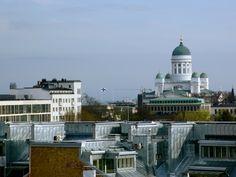 Rooftop level Helsinki Helsinki, Rooftop, Finland, Taj Mahal, Building, Travel, Viajes, Buildings, Trips