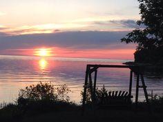 Love my Door County sunsets