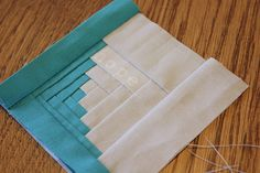Curved Log Cabin Quilting