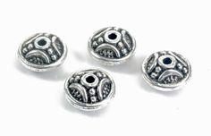 antique silver spacer separators  bali style alloy by SelectBeads
