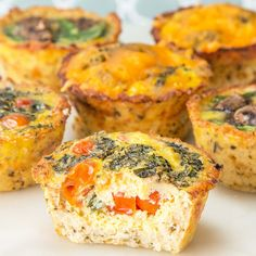 Cauliflower Crust Egg Cups Recipe by Tasty