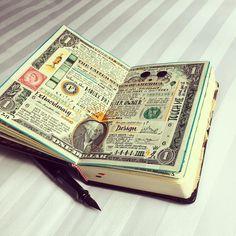 """Polubienia: 3,730, komentarze: 47 – José Naranja (@jose_naranja) na Instagramie: """"Dollar page. Rebuilt of $1 note and talking about nothing new related to money, blah, blah. Why…"""""""