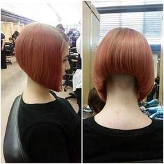 #bobhaircut #bob #napeshave #nape #aline #hair... - go shorter
