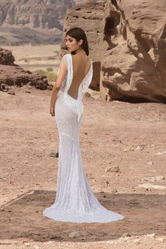 Style no. 4446 The new bridal collection by #pninatornai #winduponwater 2016
