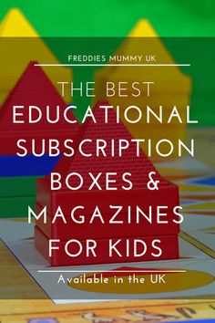 Educational Subscription Boxes for kids in the UK - What kids subscription boxes and educational magazines for kids in the UK do we recommend? Subscriptions For Kids, Subscription Boxes For Kids, Monthly Subscription, Educational Activities, Activities For Kids, Planning School, Home Education Uk, Good Parenting, Parenting Quotes
