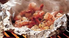 Use a foolproof foil packet to cook a trio of simply delicious seafood.