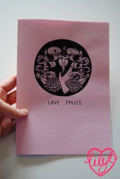 Amour sorts Zine par LillianCuda sur Etsy