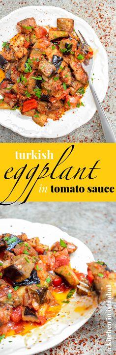 Turkish kisir bulgur salad a vegan recipe by kati of black turkish eggplant in tomato sauce recipe a kitchen in istanbul forumfinder Choice Image