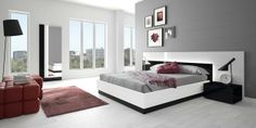 Nice and comfortable bedroom by Muebles Hermida #NOX