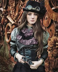 Who's the model? . Steampunk pirate girl . #steampunkpirate #pirate #airpirate #steampunkgirl #photography #photo #pic #picture #fashion #lady #model #erotica #sexy #art #beautiful #instawoman...