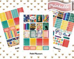 School Stickers // Back to school stickers // Study Stickers // Homework Stickers // EC Vertical // Full Box stickers // Erin Condren Life Planner // Printable Stickers // Erin Condren Life Planner // Monthly set // Planner Stickers // Stickers By Petit Planner on Etsy