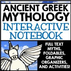 Greek Mythology Unit Interactive Notebook by Creative Classroom Core Social Studies Resources, Teaching Social Studies, Teacher Resources, Teaching Ideas, Greek God Program, World History Teaching, Student Information, High School History, Creative Writing Prompts