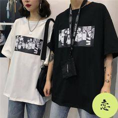 Cool Harajuku Naruto Tshirt Streetwear Men Summer Fashion Amine T-shirt Casual Cartoon Print male tops Funny Japan T Shirt Boys Anime Inspired Outfits, Anime Outfits, Aesthetic T Shirts, Aesthetic Clothes, Harajuku, Casual Shirts, Casual Outfits, Fashion Outfits, Mens Fashion