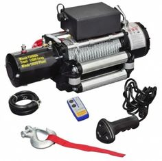 Electric winch 13 000 12V.  Grab this Amazing Opportunity. At Luxury Home Brands WE always Find Great Stuff for you :)