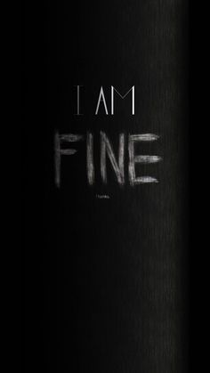 I Am Fine Thanks Angry iPhone 6 Wallpaper, I Am Fine Thanks Angr. - I Am Fine Thanks Angry iPhone 6 Wallpaper, I Am Fine Thanks Angry iPhone 6 Wallpape - Wallpapers Android, Iphone 6 Wallpaper Backgrounds, Iphone Wallpaper Glitter, Sad Wallpaper, Wallpaper Downloads, Wallpaper Quotes, Typography Wallpaper, Android Art, Cellphone Wallpaper