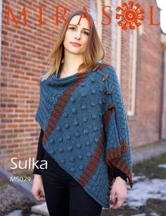 Button-Up Shawl Vest in Mirasol Sulka - 5029. Discover more Patterns by Mirasol at LoveKnitting. We stock patterns, yarn, needles and books from all of your favorite brands.