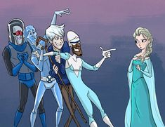 Jack Frost is Elsa and Anna's uncle cuz jacks little sister is Elsa and Anna's mom. So don't be making pins that have Elsa and Jack Frost being boyfriend and girlfriend cuz they are related! Disney Memes, Disney Pixar, Disney Amor, Disney And Dreamworks, Disney Magic, Disney High, Disney Crossovers, Punk Disney, Disney Facts