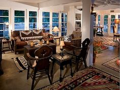 Beautifully decorated with handknotted Kilims  Cary Grant's Former Home in Palm Springs For Sale