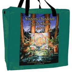 sisters quilt show cotton tote bag