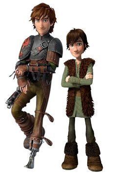 Hiccup - I didn't even realize how much older he looked in this one!  I really need to go back and watch the original again!