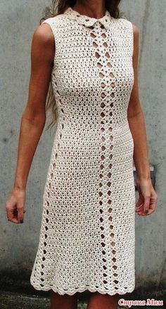 Ideas Crochet Top Dress Ganchillo For 2019 Crochet Skirt Outfit, Crochet Summer Dresses, Crochet Skirts, Crochet Cardigan, Crochet Shawl, Crochet Clothes, Crochet Lace, Knit Dress, Dress Skirt