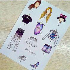 New fashion drawing pants outfit ideas Kawaii Drawings, Disney Drawings, Cute Drawings, Drawing Sketches, Outfit Drawings, Fashion Design Drawings, Fashion Sketches, Bild Girls, Arte Fashion