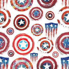 captain america shield mandala | Avengers Assemble: Captain America 75th Annive... | Marvel Comics ...