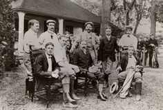 Turn of the century golfers