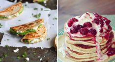 9 formas deliciosas y sencillas de aumentar la cantidad de proteína que comes cada día – Upsocl Pancakes, Breakfast, Food, Spaghetti Recipes, Being Healthy, Simple, Loosing Weight, Shapes, Meals