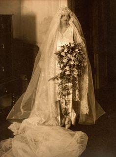 vintage wedding, my great aunt