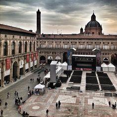 Bologna vista dal Palazzo d'Accursio per #WikiLovesBologna - Instagram by @igersbologna