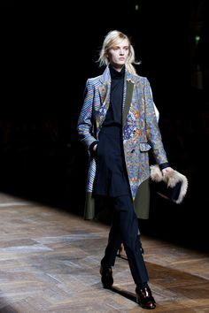 Dries Van Noten FAll/Winter 2012 via the Sarorialist