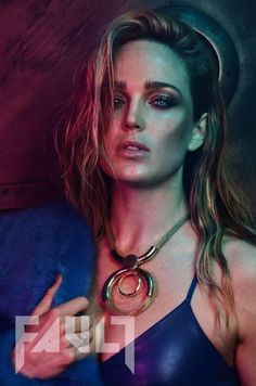 Preview: Caity Lotz Exclusive Photoshoot and Interview for FAULT 23