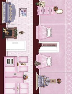 Christmas Cupcake Cottage Interior A