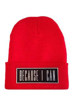 ce08c6f97d5 Now there s a beanie to match the tank. Cop one and really be able to