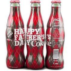 Coke Fathers Day Soda Bottle